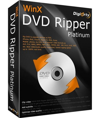 WinX DVD Ripper 6 2 3 Crack FREE Download – Mac Software