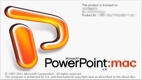 Microsoft PowerPoint mac