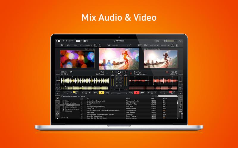 MixVibes Cross DJ mac