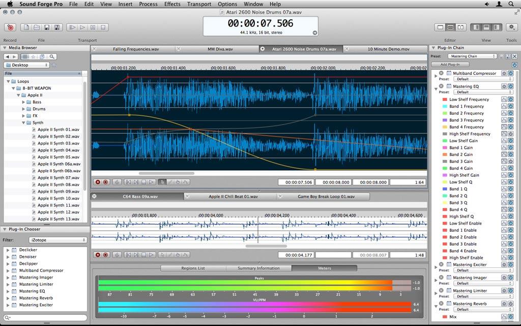 Sony Sound Forge mac