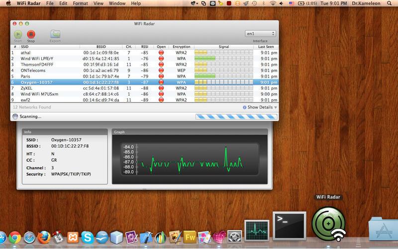 WiFi Radar Pro mac