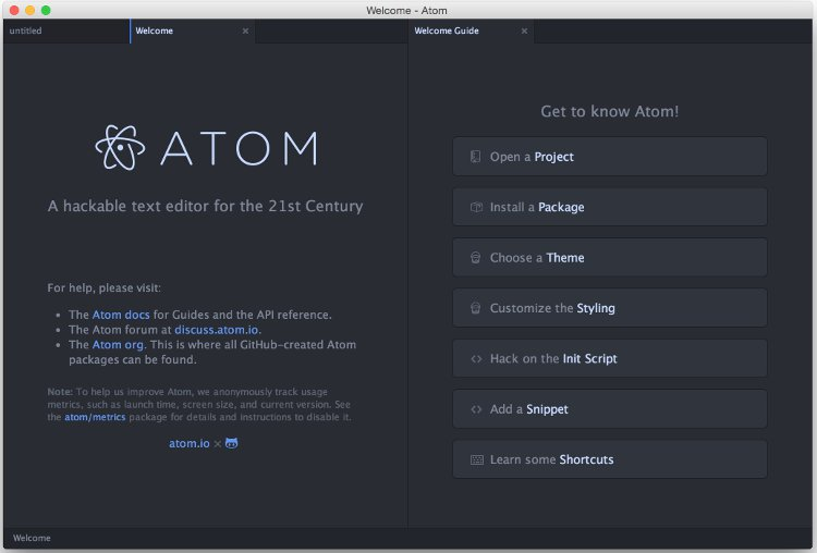 Atom mac