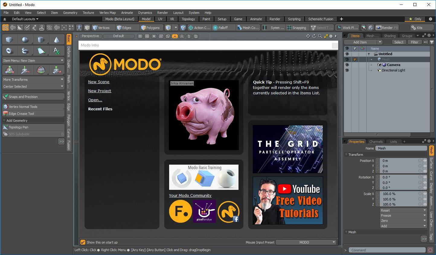 The Foundry MODO mac