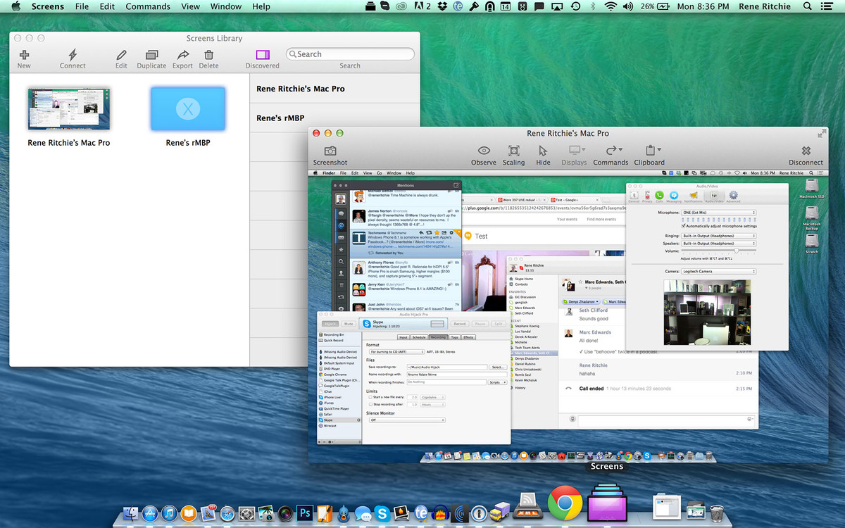 Screens mac