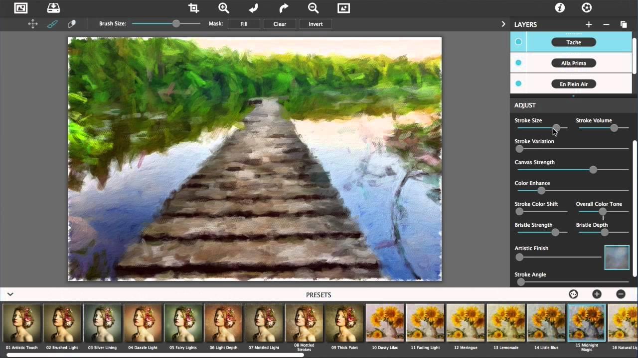 JixiPix Artista Impresso Pro mac