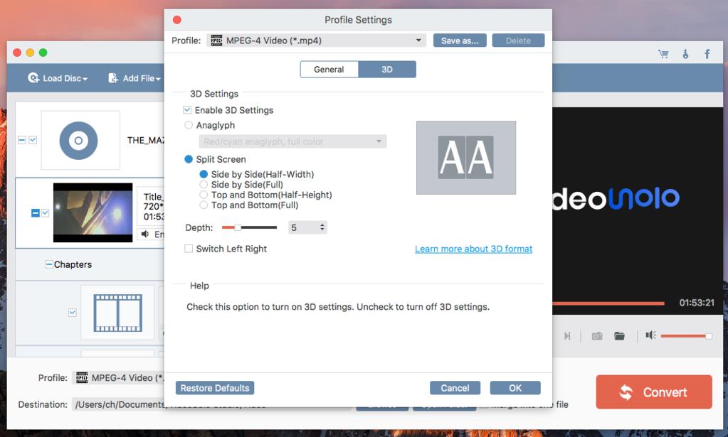 VideoSolo Video Converter Ultimate mac