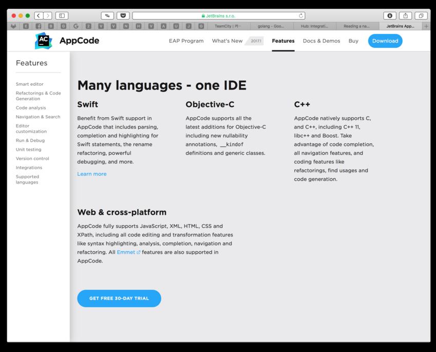 AppCode mac