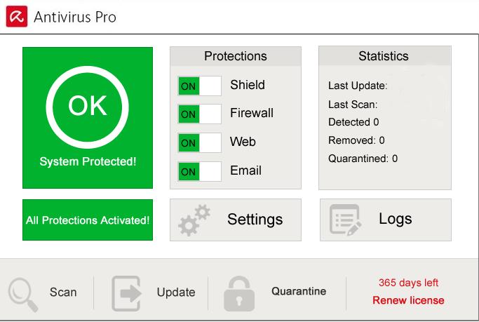 Avira Antivirus Pro mac