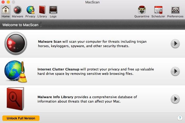 MacScan mac