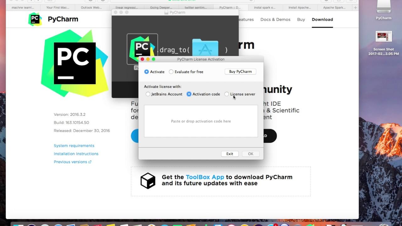 PyCharm mac