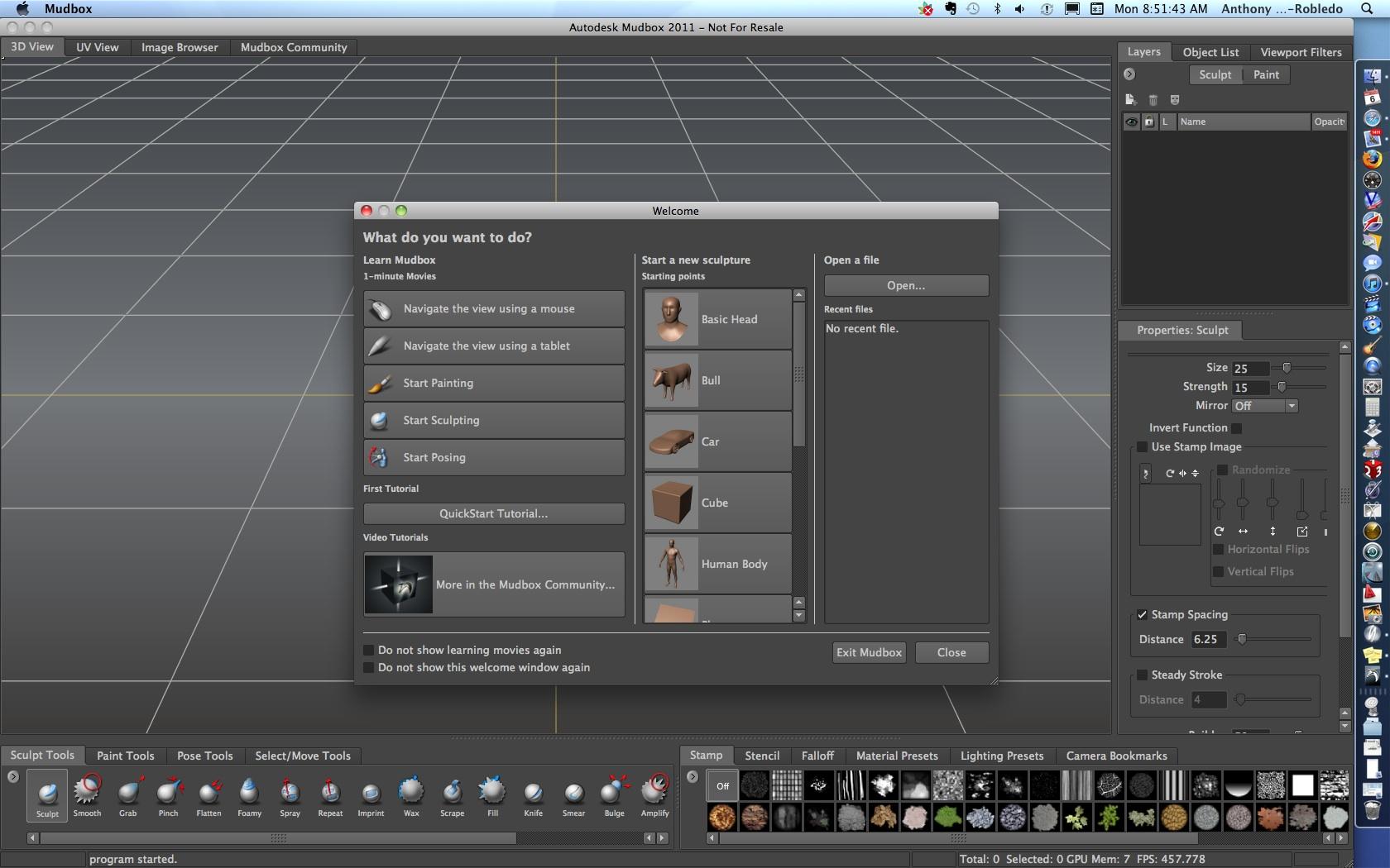 Autodesk Mudbox mac