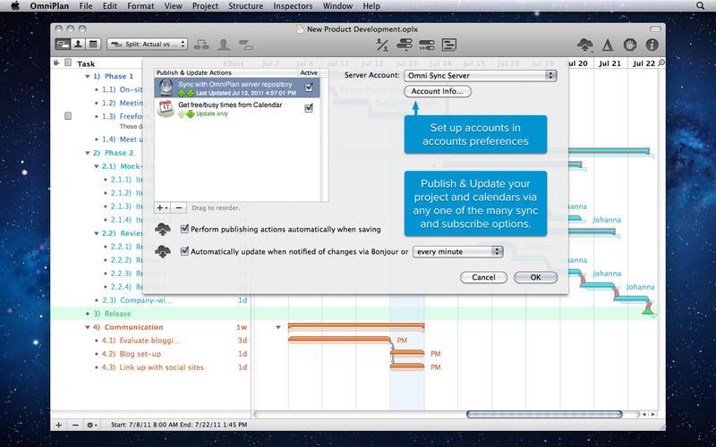 OmniPlan Pro mac