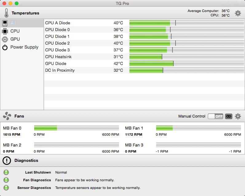 Temperature Gauge Pro mac
