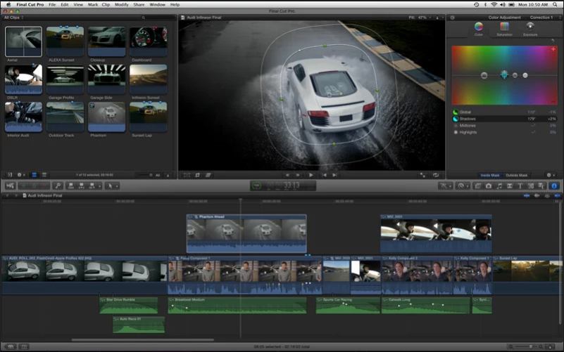 Apple Final Cut Pro mac