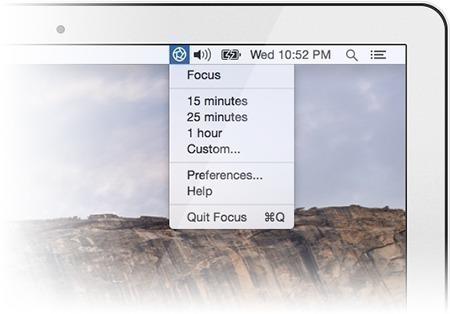 Focus mac