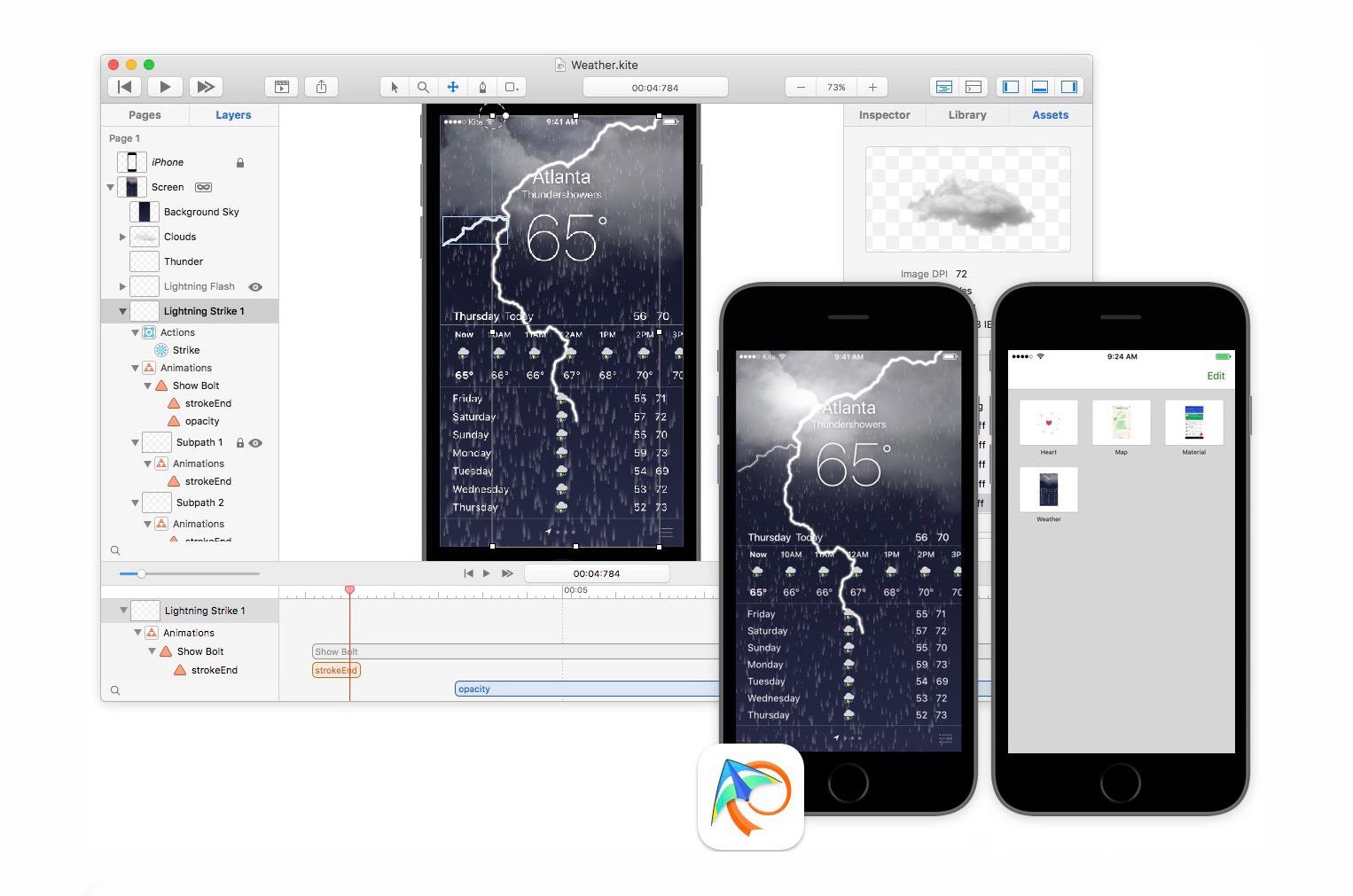Kite Composer mac