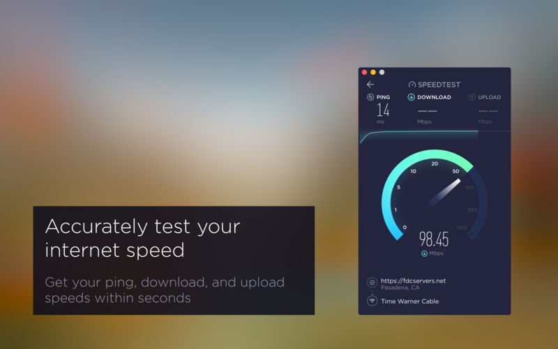 Speed Tests For Mac