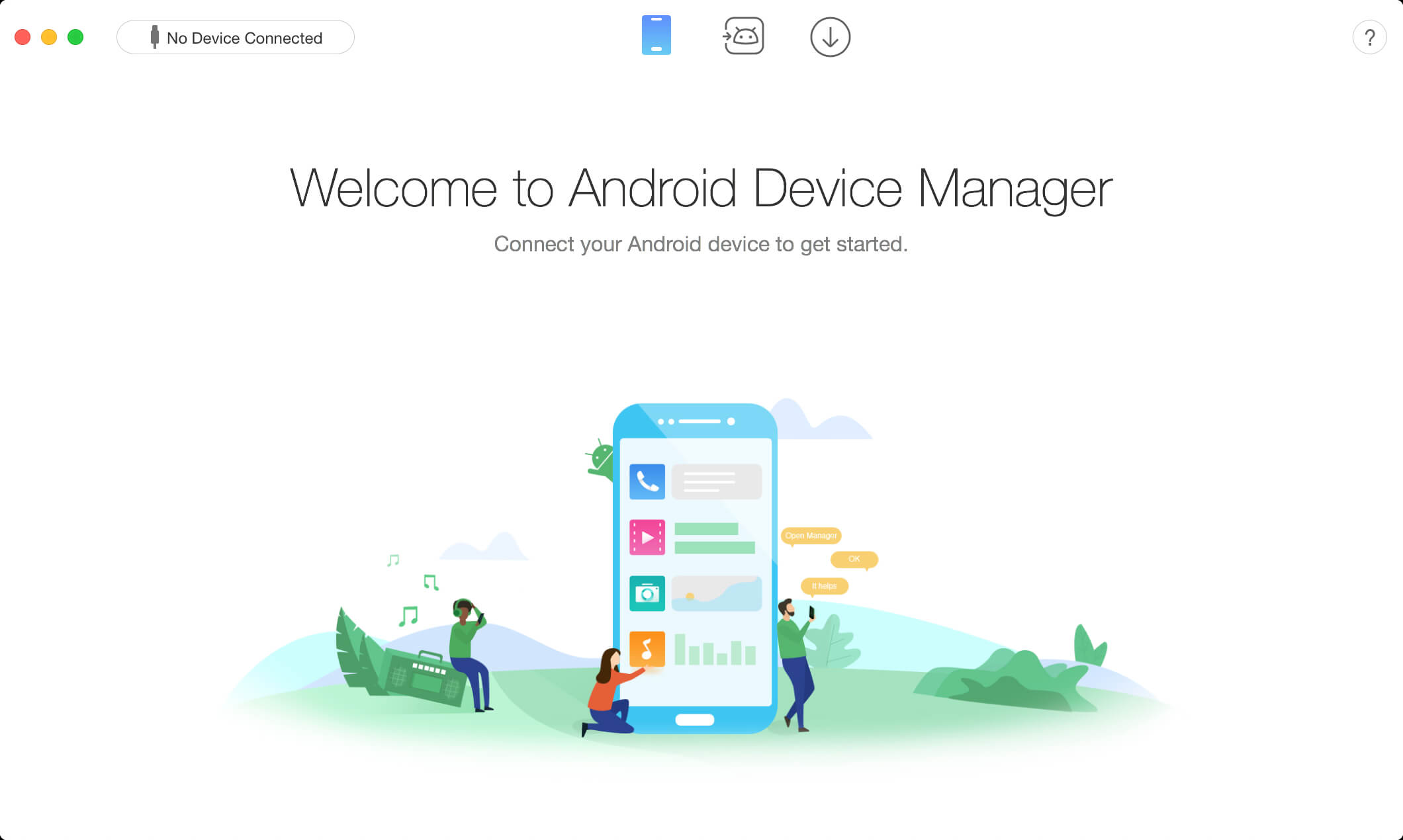 AnyTrans for Android mac