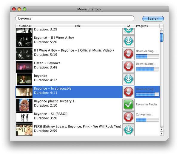 MovieSherlock mac