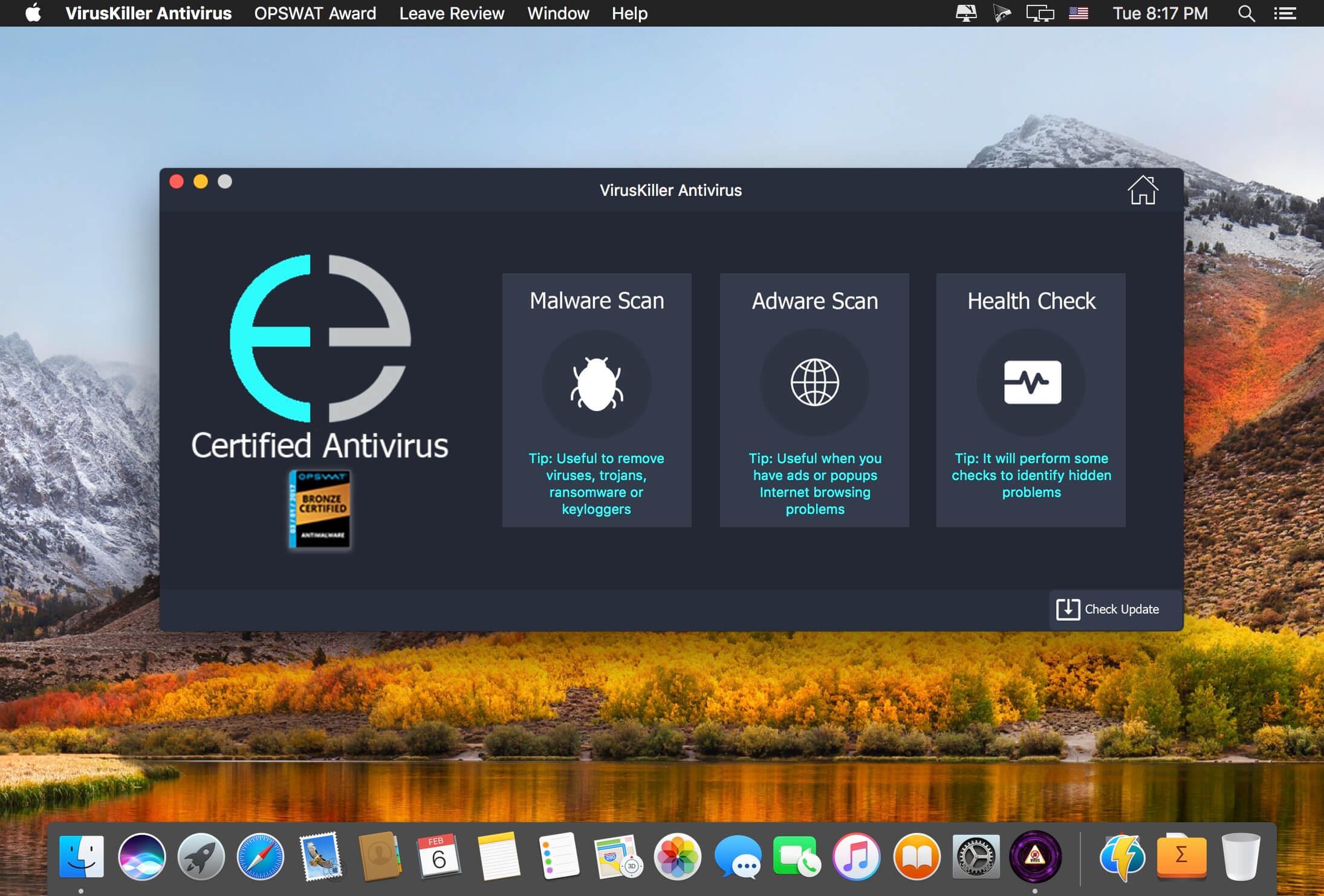 VirusKiller Antivirus mac
