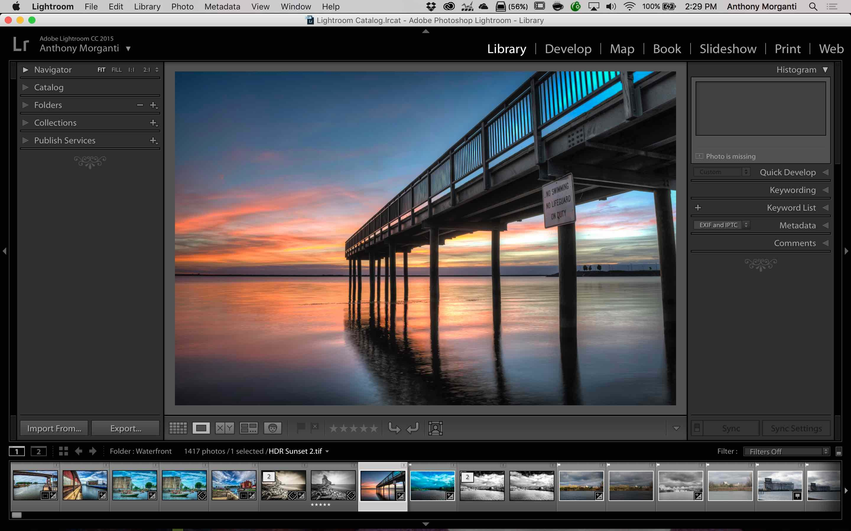 Adobe Photoshop Lightroom CC mac