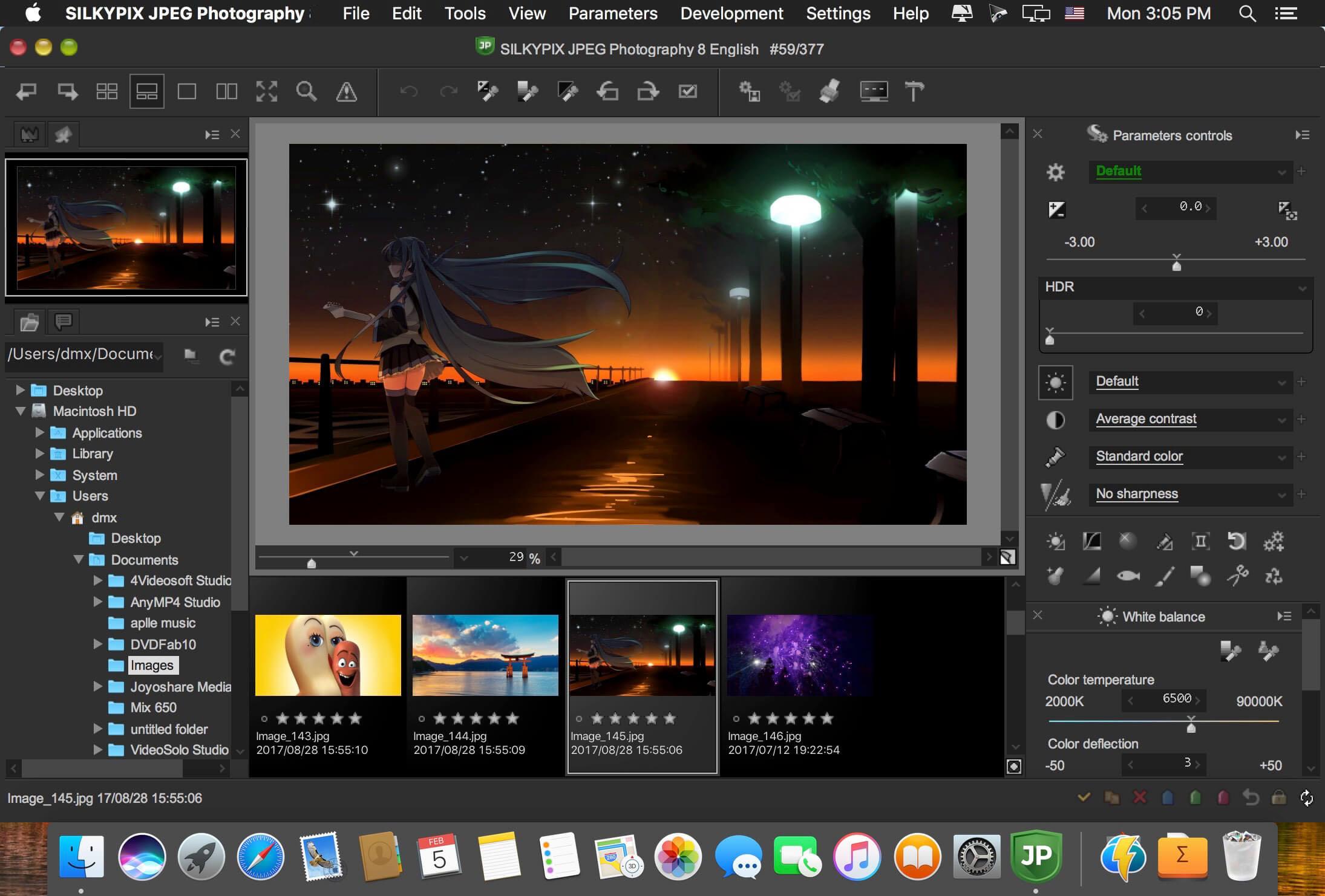 SILKYPIX JPEG Photography mac