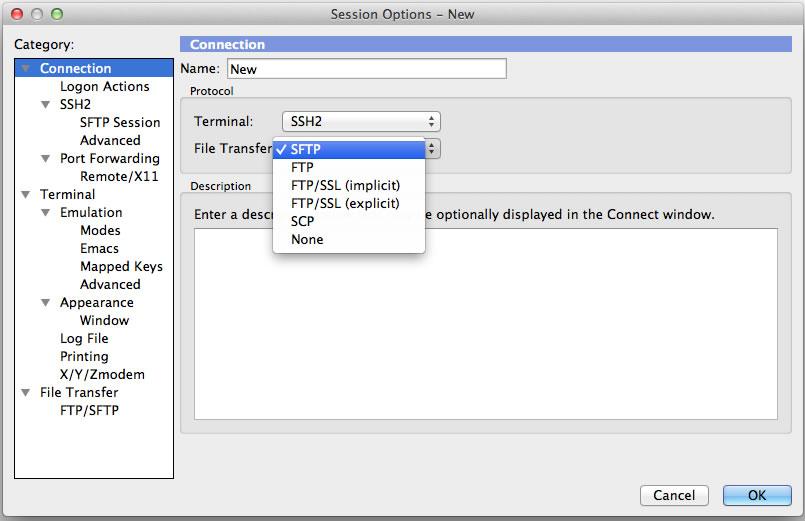 SecureFX mac