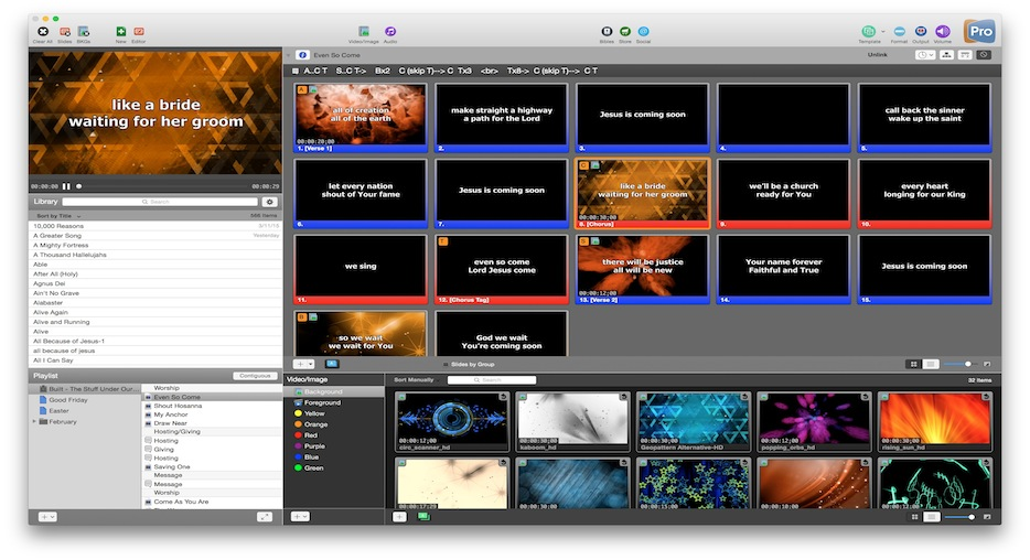 ProPresenter 7.0.8 Crack with [Mac&Win]