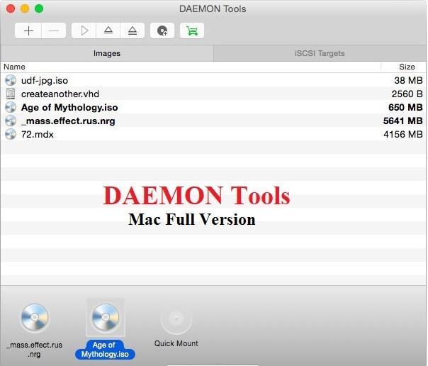 DAEMON Tools mac