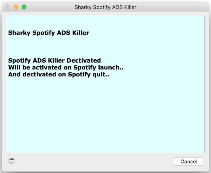 Spotify ADS Killer