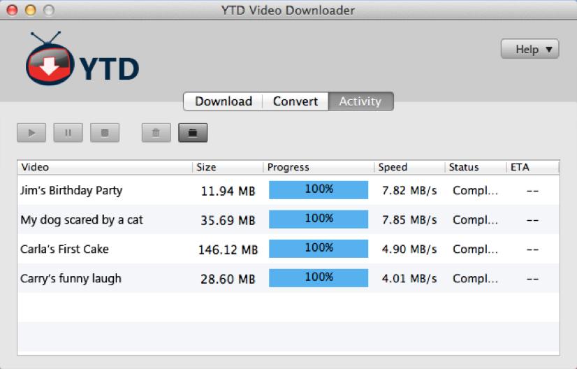 YTD Video Downloader Mac