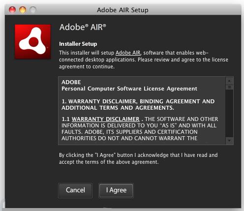 Adobe AIR mac