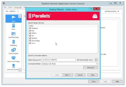 Parallels RAS mac