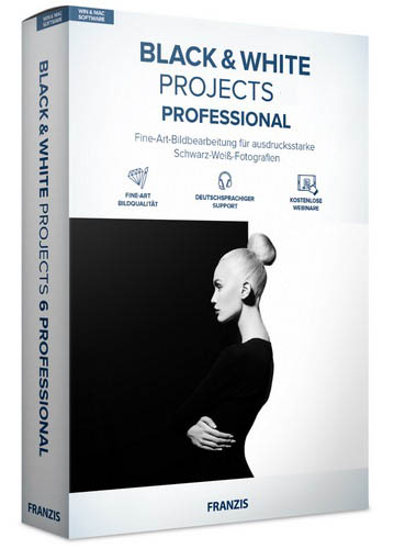 Franzis BLACK WHITE projects professional