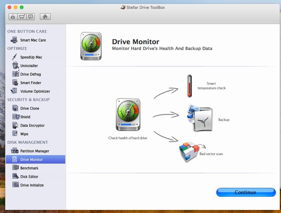 Stellar Drive ToolBox mac