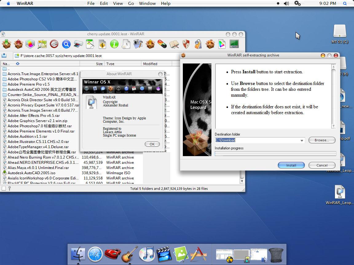WinRAR mac