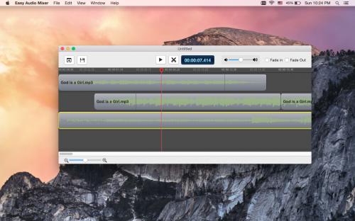 Easy Audio Mixer mac