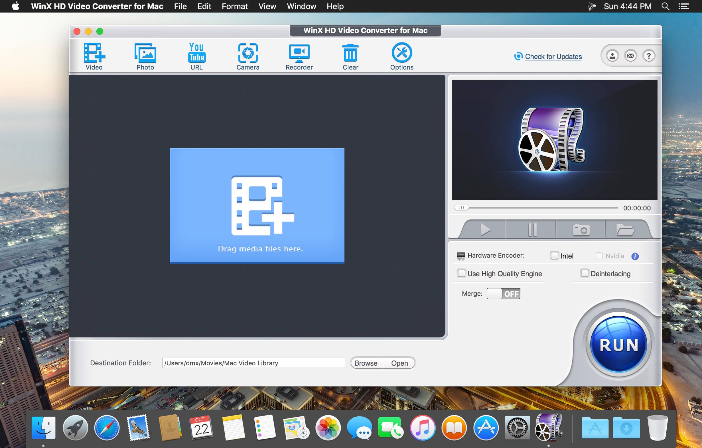 WinX HD Video Converter mac