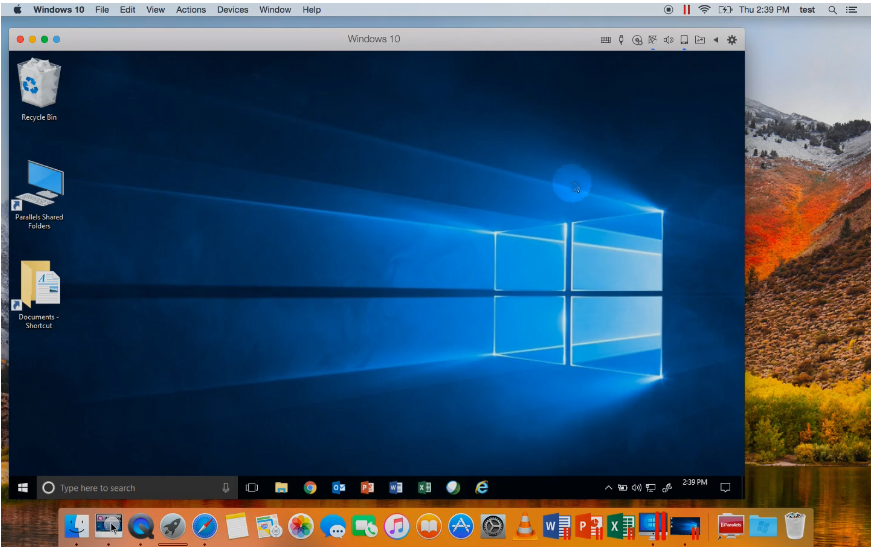 Parallels Desktop Macos