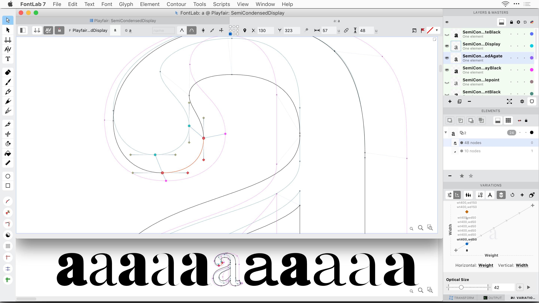 FontLab Mac