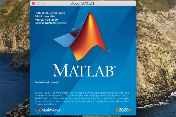 MATLAB R2020