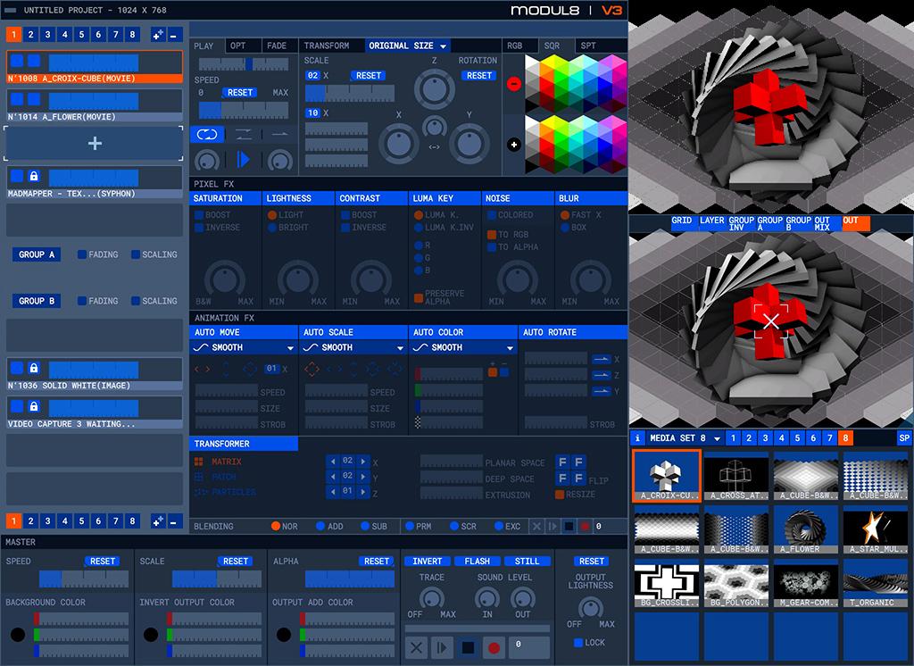 modul8 v3 Mac